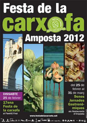 17ª Fiesta de la Alcachofa en Amposta de Tarragona