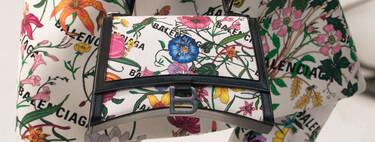 Gucci presenta la colección Gucci Aria donde el logo de Balenciaga toma el protagonismo