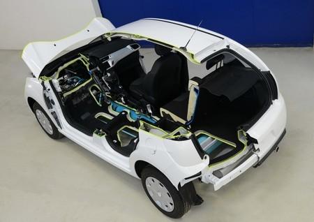 Citroën C3 Hybrid Air, un híbrido de gasolina y aire comprimido
