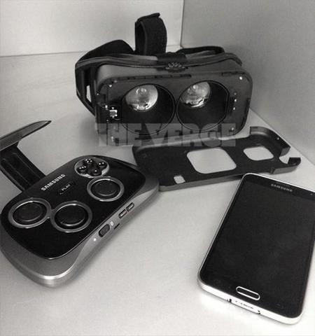 Así son las gafas de realidad virtual de Samsung