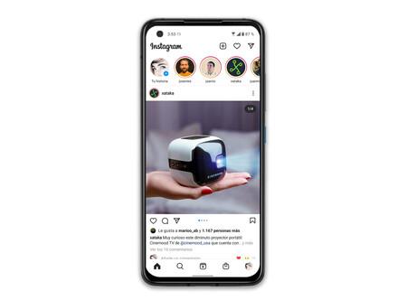 Asus Zenfone 8 02 Instagram Interfaz