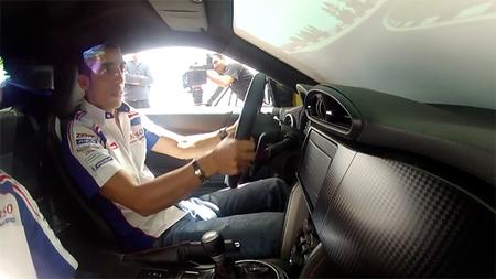 Simulador del Toyota GT86… dentro de un Toyota GT86