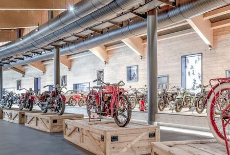 Así ha quedado el museo Top Mountain Crosspoint tras incendiarse con más de 300 motos clásicas en su interior