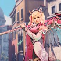 Overwatch crea el aspecto benéfico Mercy rosa para colaborar con una asociación que lucha contra el cáncer