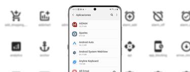 Cómo personalizar los iconos de las apps del menú de ajustes en un móvil Samsung