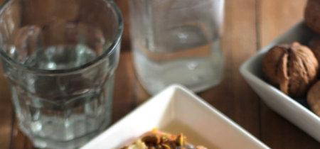 Salmón al horno con frutos secos. La receta definitiva