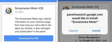 Google también estuvo recopilando datos en iOS aprovechando las herramientas que ofrece Apple para uso exclusivo de empresas