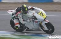 Dos carreras de suspensión para Dani Rivas por el accidente en el Gran Premio de Gran Bretaña