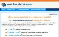Consultas laborales mediante servicio online