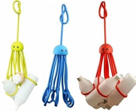 Un pulpo, accesorio ideal para la ducha o la bañera