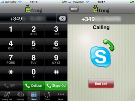 Fring, cliente multiprotocolo de mensajería con Skype incluído
