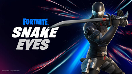 GI Joe llega a Fortnite: Snake Eyes se suma al battle royale de Epic y Hasbro lo celebra con esta espectacular figura articulada