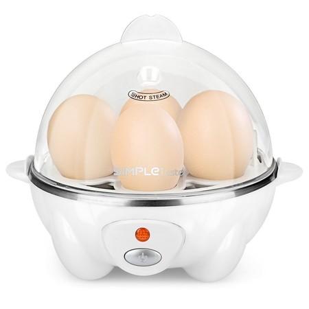 Oferta flash en el hervidor de huevos eléctrico Simpletaste: hasta medianoche costará 13,49 euros en Amazon