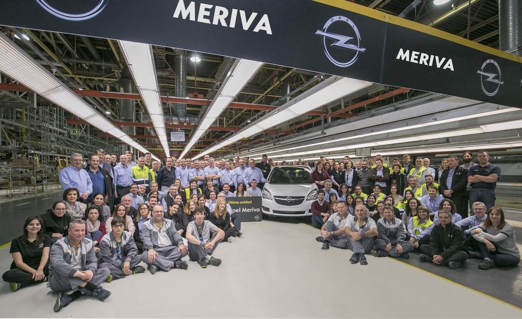 Opel Meriva Fotrografia