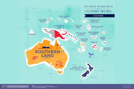 Significado Nombre Oceania