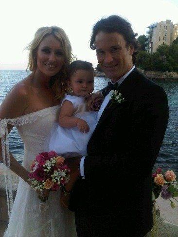 ¡¡¡Ala!!! Sorpresón: Carlos Moyá y Carolina Cerezuela se han casado