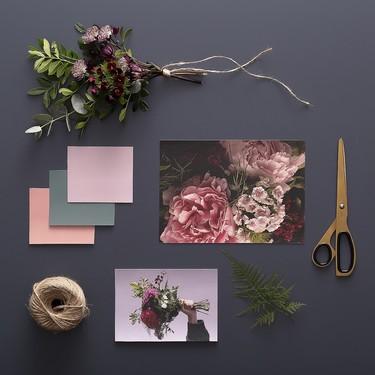 """Del mundo de la moda a la decoración: La colección de papeles pintados """"Midnight Blooms"""" captura la nueva tendencia floral melancólica"""