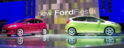 Ford Fiesta, presentación en el Salón de Ginebra