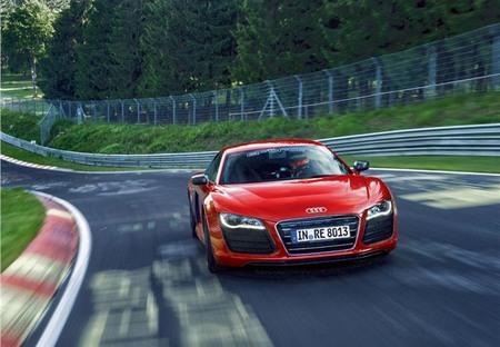 La vuelta récord a Nürburgring del nuevo Audi R8 e-tron