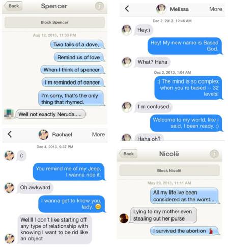 Tinder conversacion