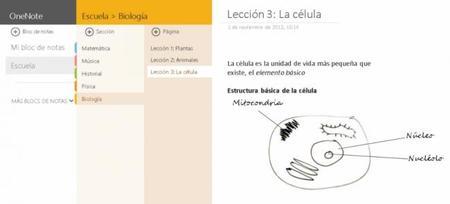 Notas multimedia espectaculares con la app de OneNote en Windows 8