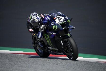 Activa el sonido: así pasó de vueltas Maverick Viñales el motor de su moto y provocó la suspensión de Yamaha