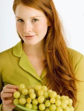 Las uvas, un natural y nutritivo antiarrugas