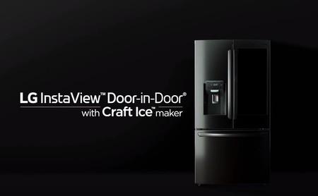 Resultado de imagen para LG InstaView Door-in-Door con la función Craft Ice