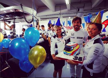 De la felicitación de cumple para Fernando Alonso a la vuelta de David Bustamante