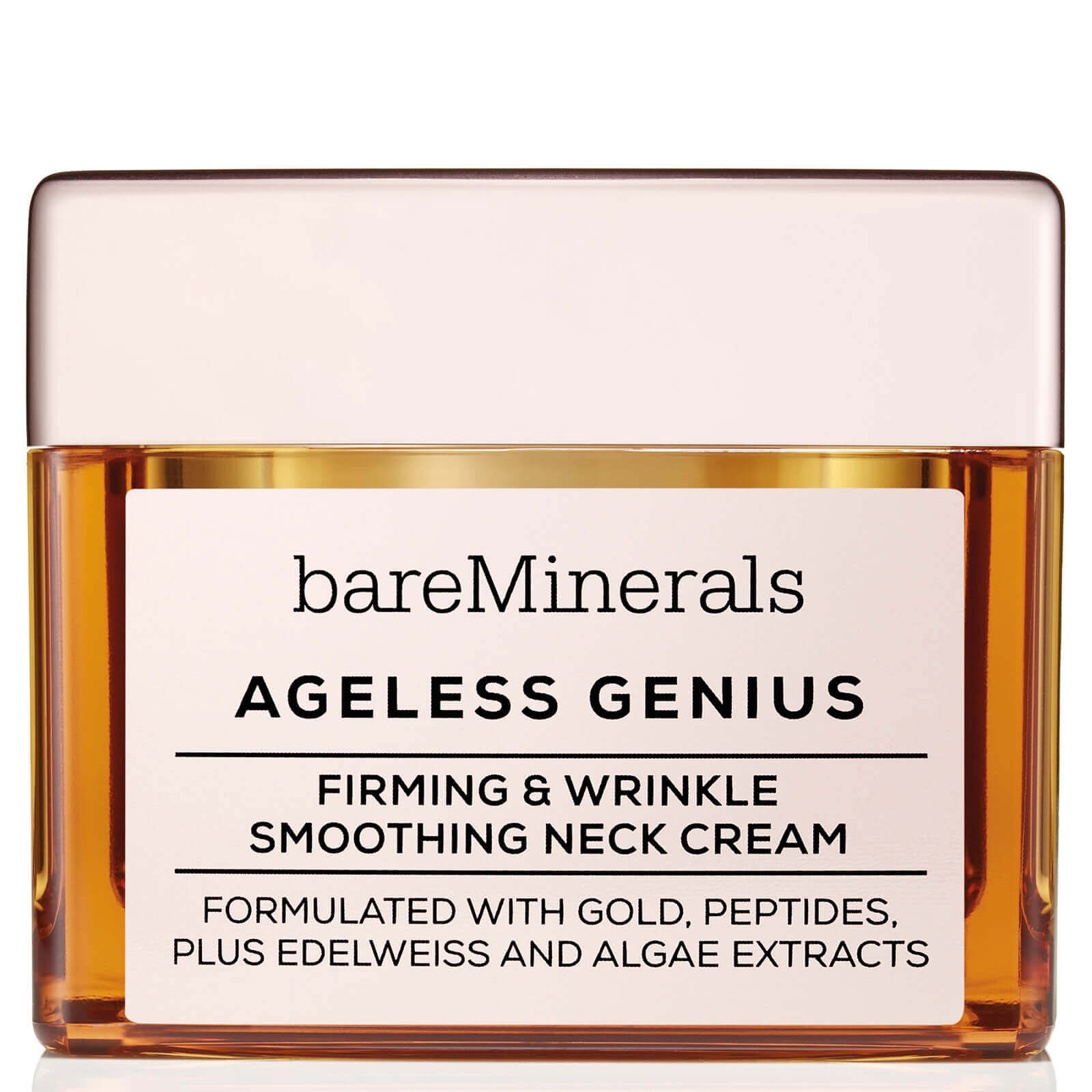 Crema reafirmante y antiarrugas para el cuello Ageless Genius de bareMinerals