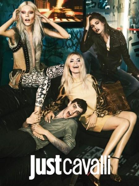 El poder de una mala imagen en la campaña de otoño de Just Cavalli
