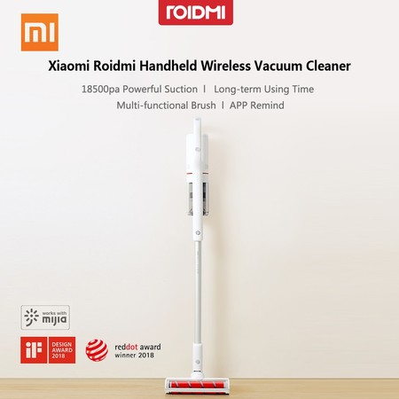 Dónde comprar más barato y al mejor precio el Xiaomi Roidmi F8, su aspirador a lo Dyson low cost