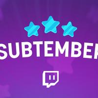 Llegan las rebajas de septiembre a Twitch con Subtember