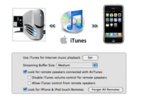 iTunes remoto con iPhone