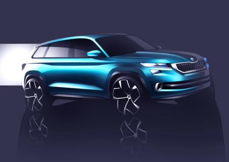 Este es el Skoda VisionS que prefigura el futuro SUV de la marca