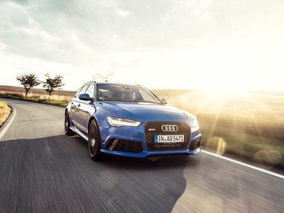 El Audi RS6 Performance Nogaro rinde tributo al RS2 con su color azul y 705 hp