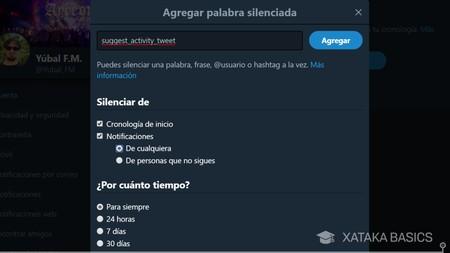 Silenciar Palabra Web
