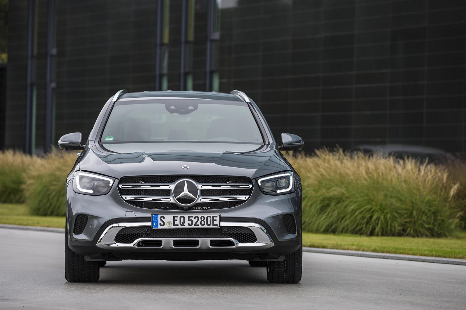Mercedes-Benz GLE 350e y GLC 300e