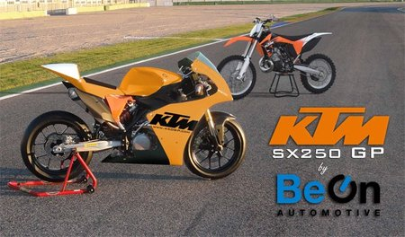 KTM SX250 GP, tributo de Be-On al dos tiempos