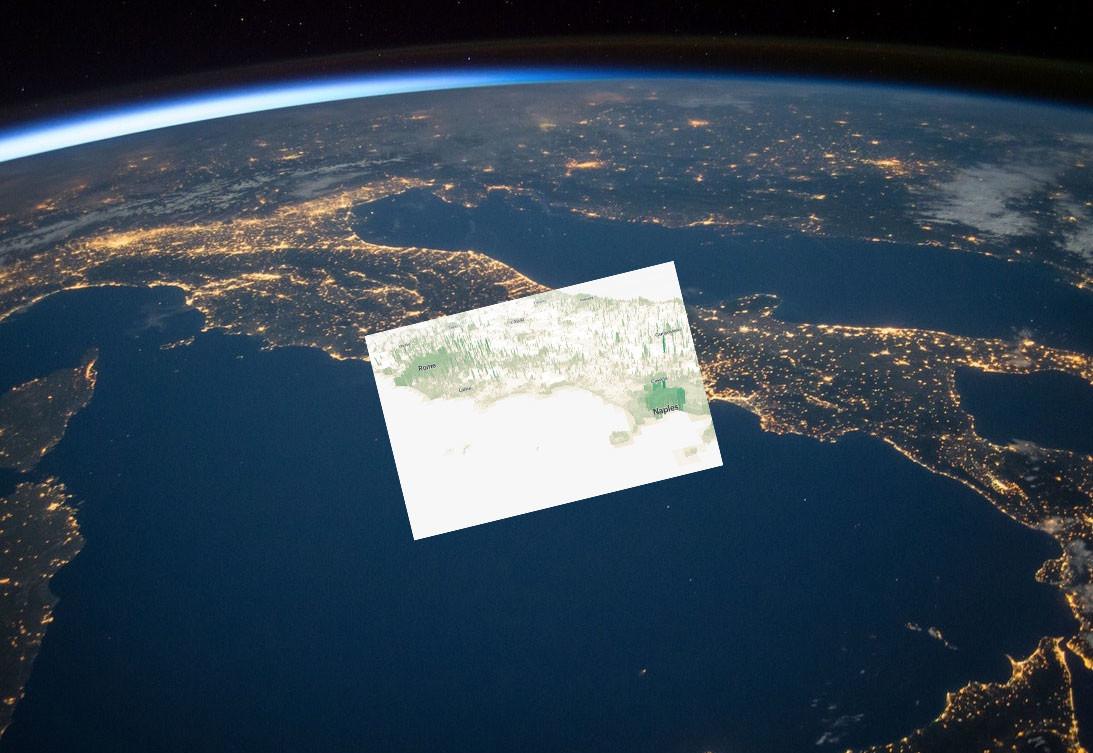 La población mundial hecha montañas 3D: así se ve el mundo según sus habitantes por kilómetro cuadrado en este mapa interactivo
