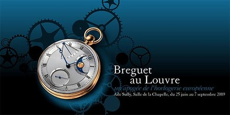 Los relojes Breguet en el Louvre