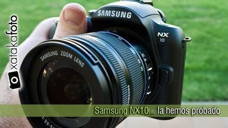 Samsung NX10, la hemos probado
