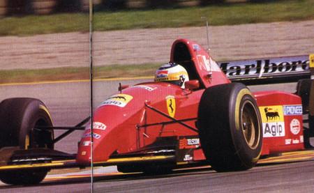 Giancarlo Fisichella Ferrari 412 T2 Fiorano Test 1995