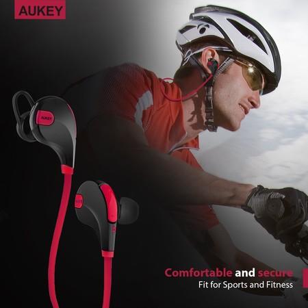 Los auriculares deportivos Aukey Sport, con conectividad Bluetooth, alcanzan su precio mínimo: 7,99 euros