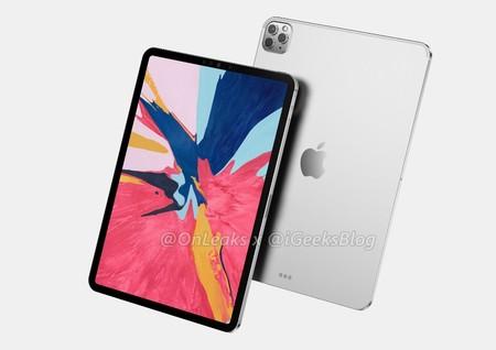 OnLeaks desvela la posible apariencia final de los próximos iPad Pro, que pueden ver la luz en marzo