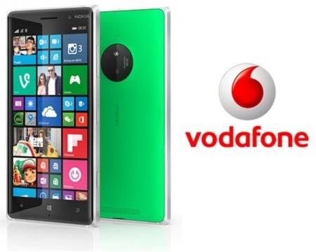 Precios Nokia Lumia 830 con Vodafone