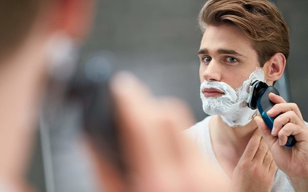 Oferta de Amazon en la afeitadora  Philips Aqua Touch S5420: ahora cuesta sólo 55,20 euros con envío gratis