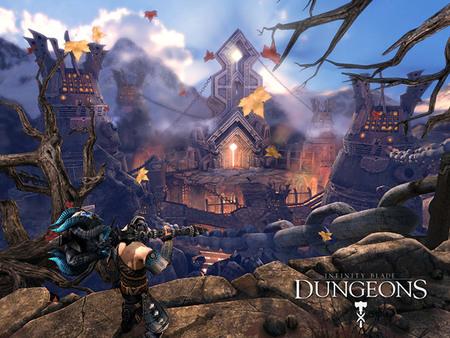 Masacrando en mazmorras y a lo loco con 'Infinity Blade: Dungeons'