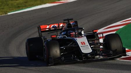 Grosjean Montmelo F1 2020