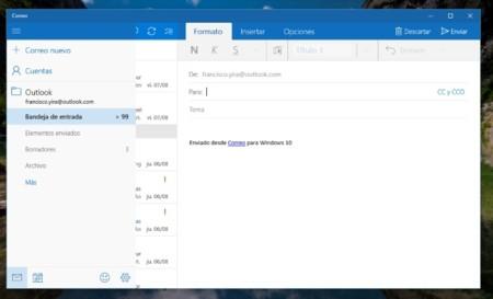 Conoce todos los atajos de teclado de la aplicación de Correo de Windows 10